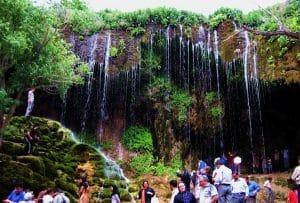آبشار آسیاب خرابه - جلفا