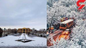 زمستان در تبریز